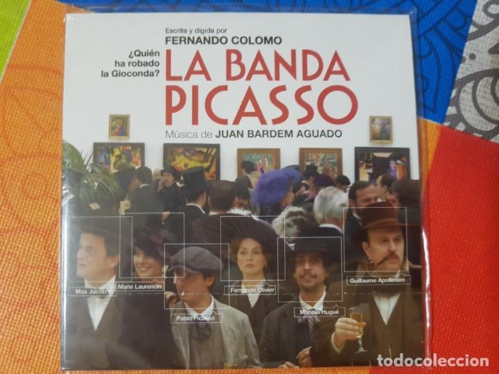 BSO ORIGINAL LA BANDA PICASSO DE FERNANDO COLOMO. CINE ESPAÑOL (Música - CD's Bandas Sonoras)