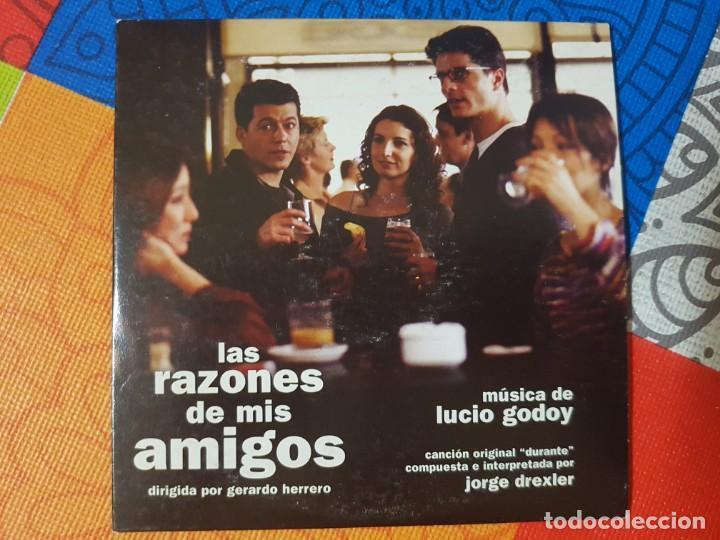 BSO ORIGINAL LAS RAZONES DE MIS AMIGOS (TEMA PRINCIPAL DE JORGE DREXLER).LUCIO GODOY CINE ESPAÑOL (Música - CD's Bandas Sonoras)