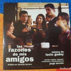 CDs de Música: BSO ORIGINAL LAS RAZONES DE MIS AMIGOS (TEMA PRINCIPAL DE JORGE DREXLER).LUCIO GODOY CINE ESPAÑOL. Lote 246350365