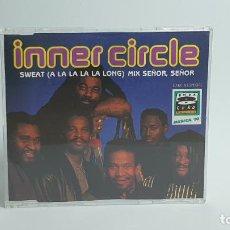 CDs de Música: CD - 1992 - INNER CIRCLE - SWEAT (A LA LA LA LA LONG) MIX SEÑOR, SEÑOR - 1 CD. Lote 246358460