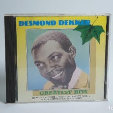 CDs de Música: CD - 1988 - DESMOND DEKKER - GREATEST HITS - 1 CD. Lote 246358695