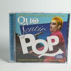 CDs de Música: CD - 2004 - VARIOS - QUO SENTIR EL POP - 1 CD. Lote 246358700