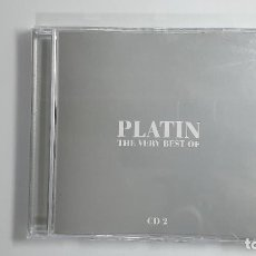 CDs de Música: CD - 2000 - VARIOS - PLATIN, THE VERY BEST OF - 2 CD´S. Lote 246358715