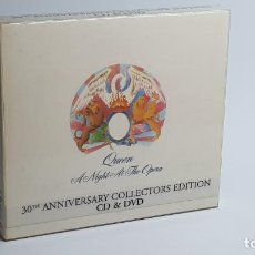 CDs de Música: CD - 2005 - QUEEN - A NIGHT AT THE OPERA - 30 ANNIVERSARY COLLECTOR EDITION - 1 CD + 1 DVD. Lote 246358795
