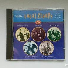 CDs de Música: CD - 1992 - VARIOS - VOCAL GROUPS THE SIXTIES SOUND - 1 CD. Lote 246358800