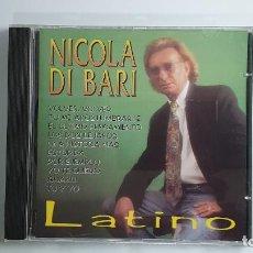 CDs de Música: CD - 1996 - NICOLA DI BARI - LATINO - 1 CD. Lote 246358830
