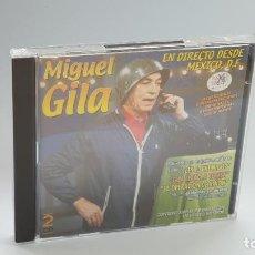 CDs de Música: CD - 2002 - MIGUEL GILA - EN DIRECTO DESDE MÉXICO, D.F. - 2 CD´S. Lote 246358850