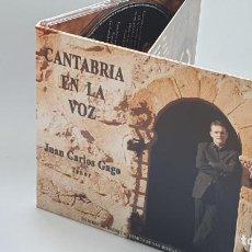 CDs de Música: CD - 2006 - JUAN CARLOS GAGO - CANTABRIA EN LA VOZ - 1 CD. Lote 246358970