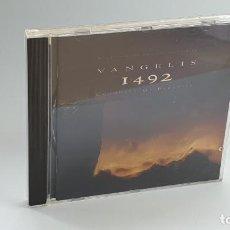 CDs de Música: CD - 1992 - VARIOS - BSO VANGELIS 1492 - 1 CD. Lote 246359185