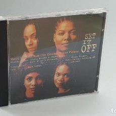 CDs de Música: CD - 1996 - VARIOS - BSO SET IT OFF - 1 CD. Lote 246359190