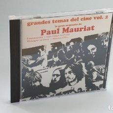 CDs de Música: CD - 1976 - PAUL MAURIAT - GRANDES TEMAS DEL CINE VOL. 2 - 1 CD. Lote 246359210