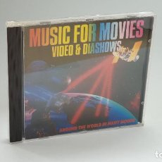 CDs de Música: CD - 1990 - VARIOS - MUSIC FOR MOVIES - 1 CD. Lote 246359250