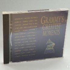 CDs de Música: CD - 1994 - VARIOS - GRAMMY´S GREATEST MOMENTS - 2 CD´S. Lote 246359265