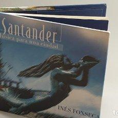 CDs de Música: CD - 2005 - INES FONSECA - SANTANDER, MÚSICA PARA UNA CIUDAD - 1 CD. Lote 246359280