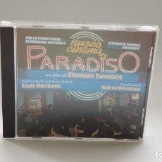 CDs de Música: CD - 2003 - ENNIO MORRICONE - BSO CINEMA PARADISO - 1 CD. Lote 246359300