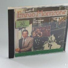 CDs de Música: CD - 1988 - ENNIO MORRICONE - THE MUSIC OF ENNIO MORRICONE - 1 CD. Lote 246359310