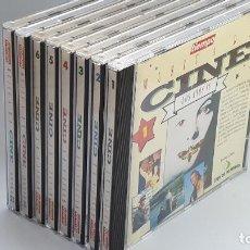 CDs de Música: CD - 1993 - VARIOS - BSO MÚSICA DE CINE - 8 CD´S. Lote 246359350