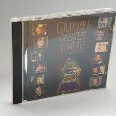 CDs de Música: CD - 1994 - VARIOS - GRAMMY´S GREATEST MOMENTS - 1 CD´S. Lote 246359365