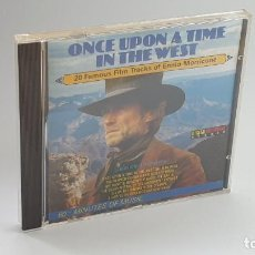 CDs de Música: CD - 1986 - ENNIO MORRICONE - ONCE UPON A TIME IN THE WEST - 1 CD. Lote 246359400