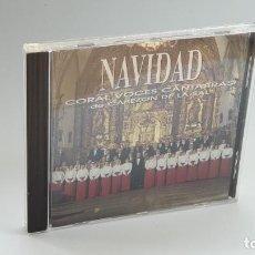 CDs de Música: CD - 1996 - CORAL VOCES CANTABRAS DE CABEZON DE LA SAL - NAVIDAD - 1 CD. Lote 246359405