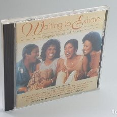 CDs de Música: CD - 1995 - VARIOS - BSO WAITING TO EXHALE - 1 CD. Lote 246359445