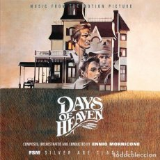 CDs de Música: DAYS OF HEAVEN / ENNIO MORRICONE 2CD BSO - FSM. Lote 246360435