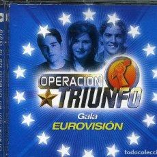CDs de Música: OPERACION TRIUNFO - GALA EUROVISION. Lote 246372515
