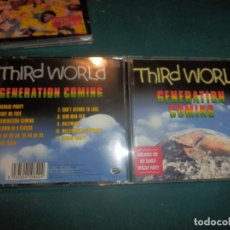 CDs de Música: THIRD WORLD - GENERATION COMING - CD 11 TEMAS - GATOR / EAGLE RECORDS 1999 (REGGAE). Lote 246376825