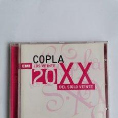 CDs de Música: COPLA LOS 20 DEL SIGLO XX CD EMI. Lote 246436630