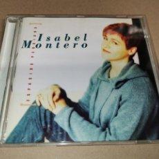 CDs de Música: ISABEL MONTERO ESPACIOS PERDIDOS CD ALBUM DEL AÑO 1999 CONTIENE 10 TEMAS PACO ORTEGA. Lote 246458160