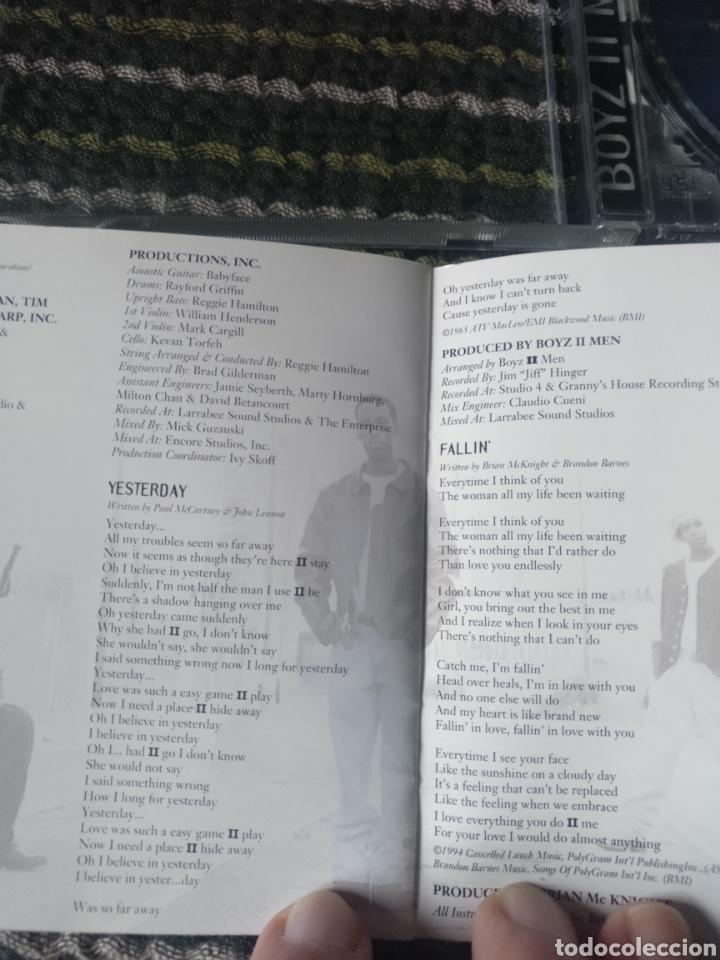 CDs de Música: CD BOYZ II MEN, PHILADELFIA,PA 1994 - Foto 2 - 246474950