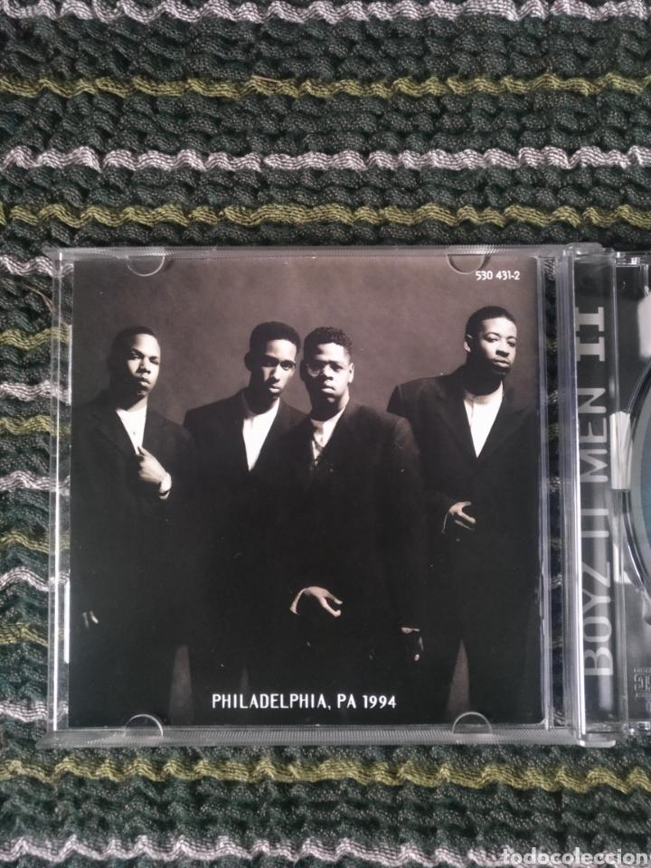 CDs de Música: CD BOYZ II MEN, PHILADELFIA,PA 1994 - Foto 3 - 246474950