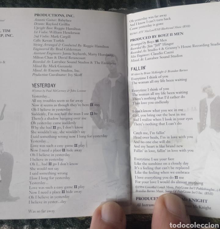 CDs de Música: CD BOYZ II MEN, PHILADELFIA,PA 1994 - Foto 7 - 246474950