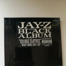 CDs de Música: JAY-Z THE BLACK ALBUM FEATURES -CHANGE CLOTHES- AND -WHAT MORE CAN I SAY-(2003). Lote 246497345