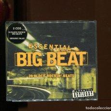 CDs de Música: ESSENTIAL BIG BEAT. 20 BLOCK ROCKIN' BEATS. 2 CD'S DOBLE CD.. Lote 246503360