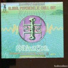 CDs de Música: SPIRIT ZONE COMPILATION 1 2 CD'S. DOBLE CD GLOBAL PSYCHEDELIC CHILL OUT. 2000. PERFECTO. Lote 246505400