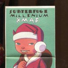 CDs de Música: SUBTERFUGE. MILLENIUM XMAS. CD 1999. CON 2 AUTÓGRAFOS. COMO NUEVO. Lote 246505705