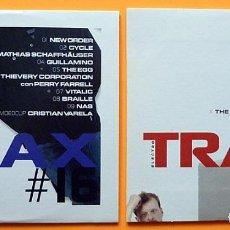 CDs de Música: TRAX 16 + TRAX 28 - 2 CD PROMO SAMPLER - REVISTA TRAX - 2005 / 2006 - NUEVOS - VER ARTISTAS. Lote 246522460