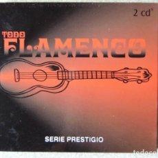 CDs de Música: TODO FLAMENCO...DOBLE CD. Lote 246534085