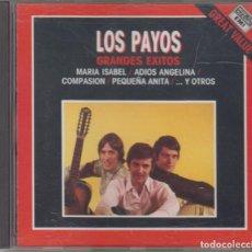CDs de Música: LOS PAYOS CD GRANDES ÉXITOS 1989 HISPAVOX. Lote 246542150