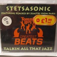 CDs de Música: SINGLE/ STETSASONIC/ TALKIN ALL THAT JAZZ / (REF.CD.SINGLE.2). Lote 246561420