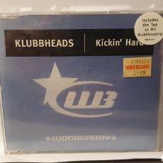 CDs de Música: SINGLE/ KLUBBHEADS/ KICKIN HARD/ (REF.CD.SINGLE.2). Lote 246562005