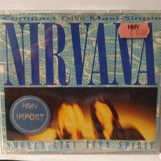 CDs de Música: SINGLE/ NIRVANA/ SMELLS LIKE TEEN SPIRIT/ MAXI-SINGLE / (REF.CD.SINGLE.2). Lote 246562935