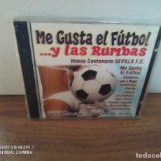 CDs de Música: ME GUSTA EL FUTBOL Y LAS RUMBAS ( NUEVO PRECINTADO). Lote 246564920