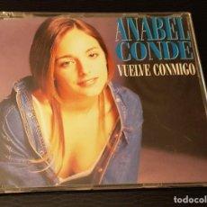 CDs de Musique: ANABEL CONDE CD SINGLE VUELVE CONMIGO EUROVISIÓN 95. Lote 246565785