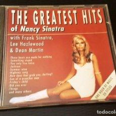 CDs de Música: THE GREATEST HITS OF NANCY SINATRA CD 20 TEMAS CON FRANK SINATRA, DEAN MARTIN Y LEE HAZLEWOOD. Lote 246566405