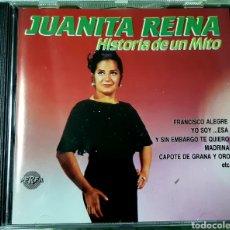 CDs de Música: MUSICA GOYO - CD ALBUM - JUANITA REINA - HISTORIA DE UN MITO - AA97. Lote 246585445
