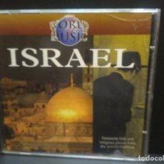 CDs de Música: VARIOS WORLD MUSIC ISRAEL CD 18 TRACK PEPETO. Lote 246604445