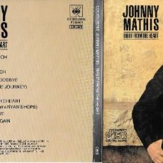 CDs de Música: JOHNNY MATHIS - RIGHT FROM THE HEART. Lote 246625855