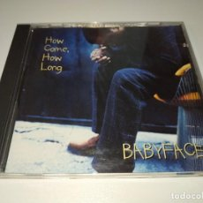 CDs de Música: 0321- HOW COME HOW LONG BABY FACE - CD - DISCO ESTADO BUENO. Lote 246633425